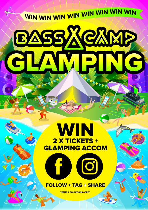 Glamping at Bass Camp