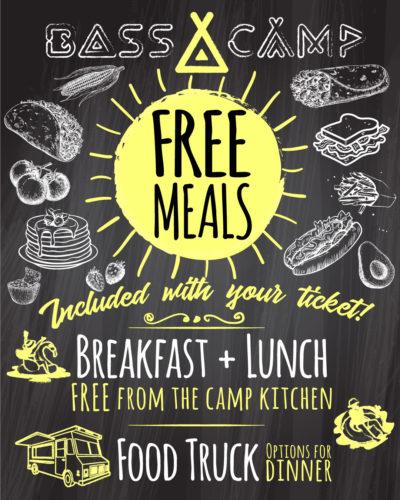 Free Meals at Bass Camp Australia