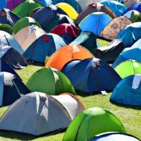 Camping at Bass Camp Australia